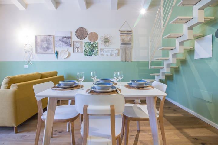 New modern open space in S.Pantaleo - sleeps 4