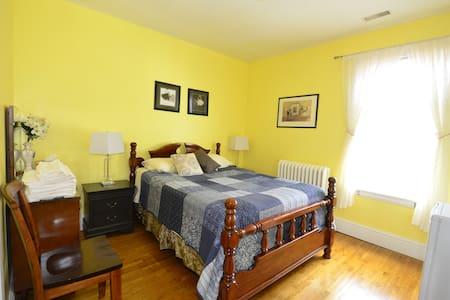 Room 1 Yellow Bedroom