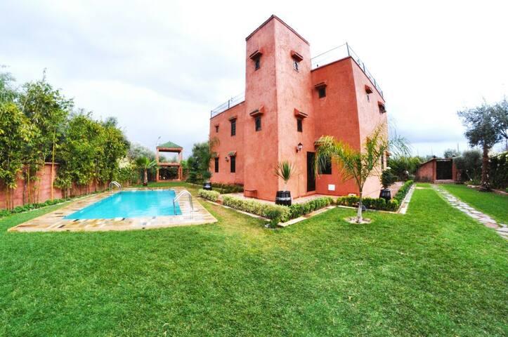 Gif jnane ghmate marrakeche - Marrakech - Villa