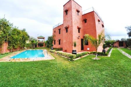 Gif jnane ghmate marrakeche - Marrakesch - Villa