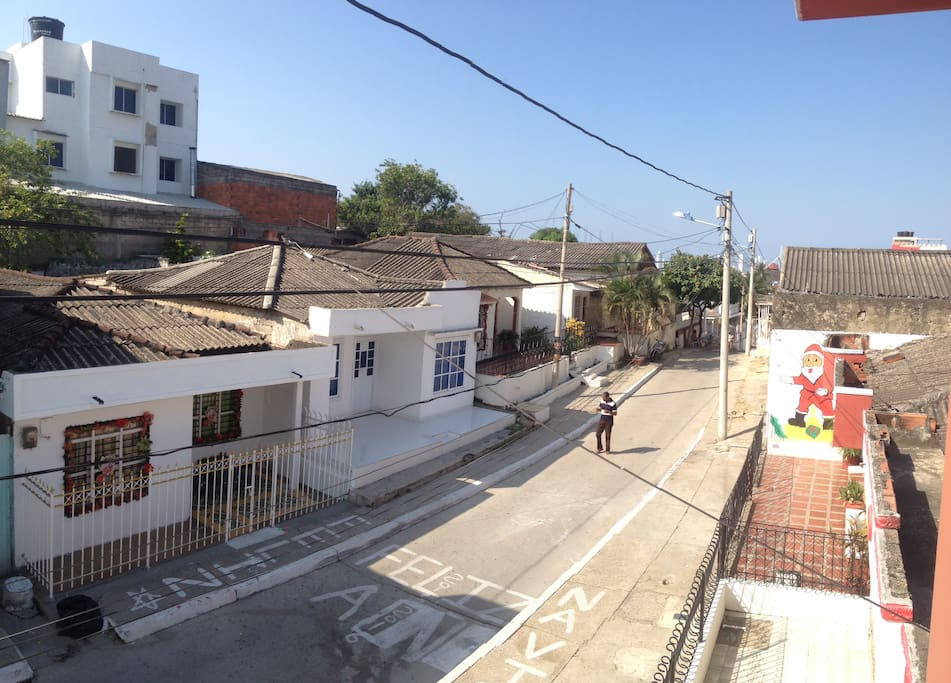 The very small and quiet street