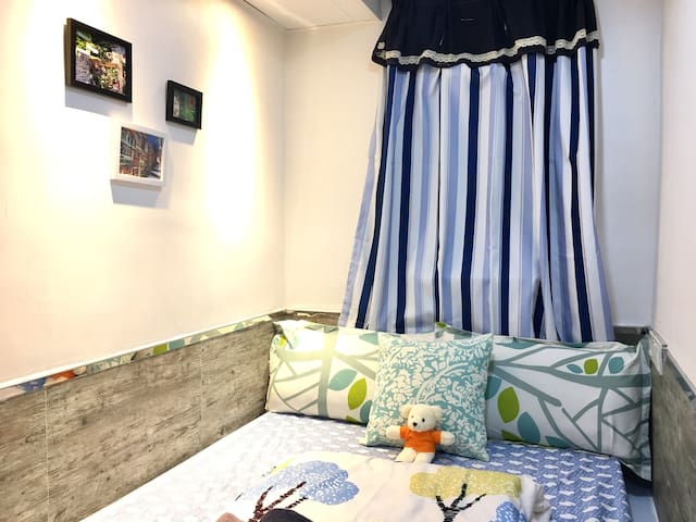 #6 Small Single/Double Room in Tsim Sha Tsui