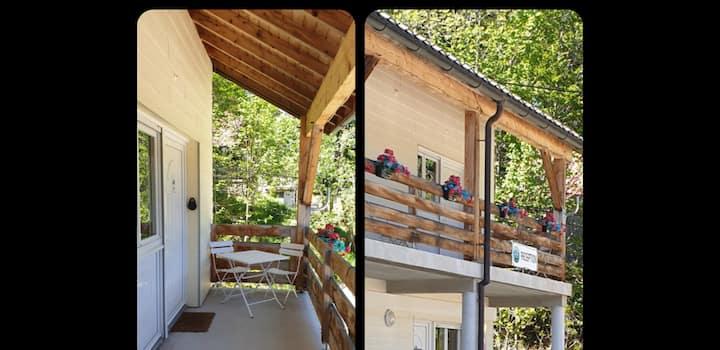 **Nature **studio 18  2-4 pers Prémanon, Alt1300 m