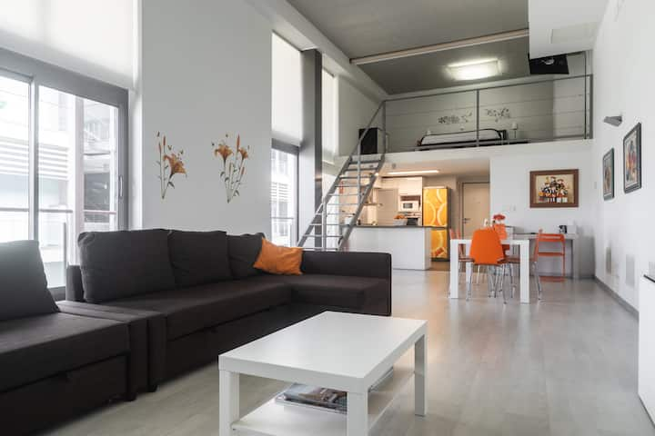 Orange LOFT, Valencia, WIFI, Piscina