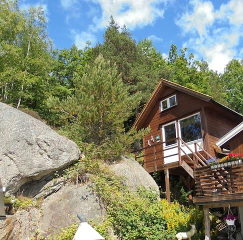 Ferien und Wanderhütte mit Aussicht in Søgne