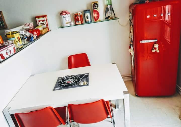 Chambre séparée dans appartement partagé