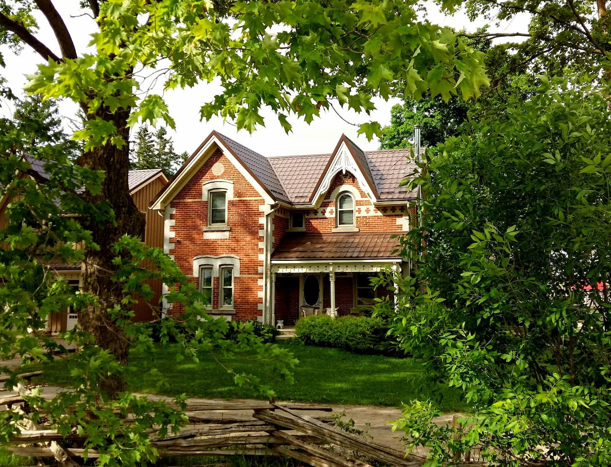 A hidden country gem. We've been operating as a B&B for over six years, with many happy returning customers.