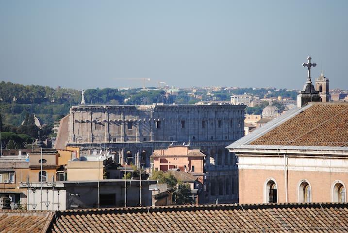 Tra San Giovanni in Laterano e il Colosseo!! - Rome - Appartement
