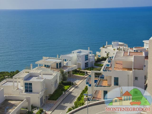 Комфортные апартаменты с шикарным видом на море - Stari Bar - Flat