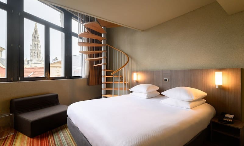 Upscale Hotel in the heart of Brussels