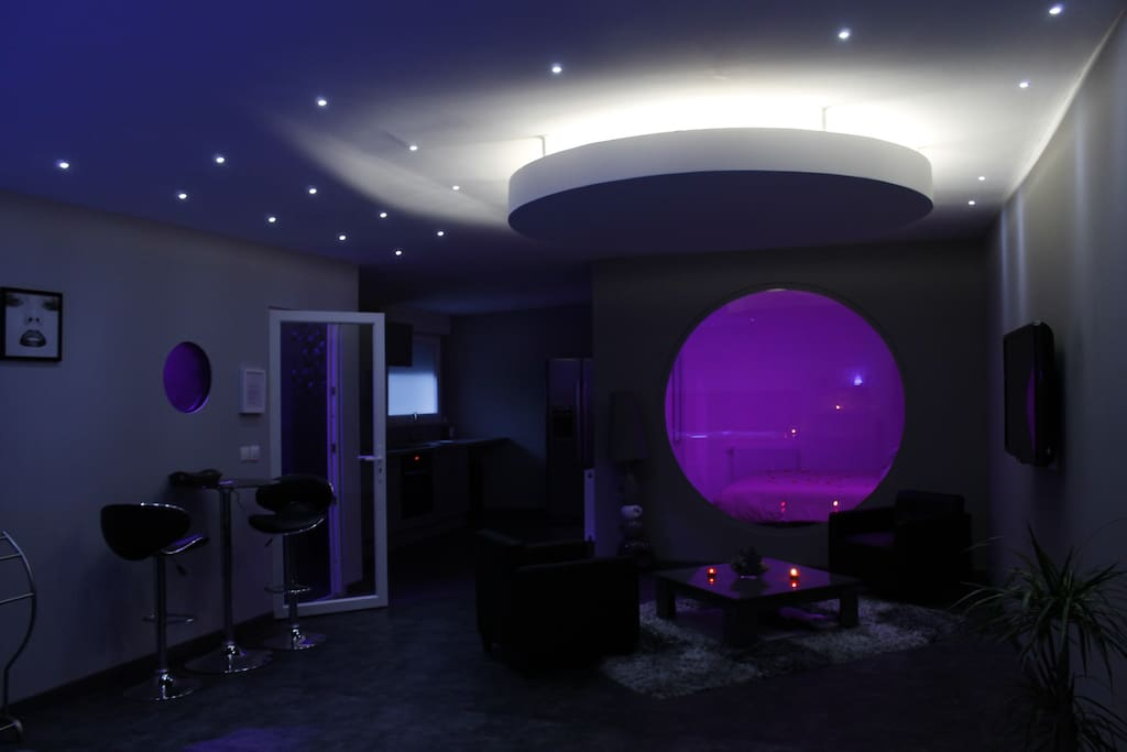 Dream spa loft 39 s te huur in marcq en bar ul nord pas for Salon marcq en baroeul