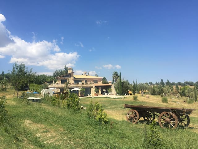 Exclusive stone Villa dominating the gulf - Staletti' - Villa