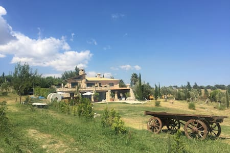 Exclusive stone Villa dominating the gulf - Staletti'