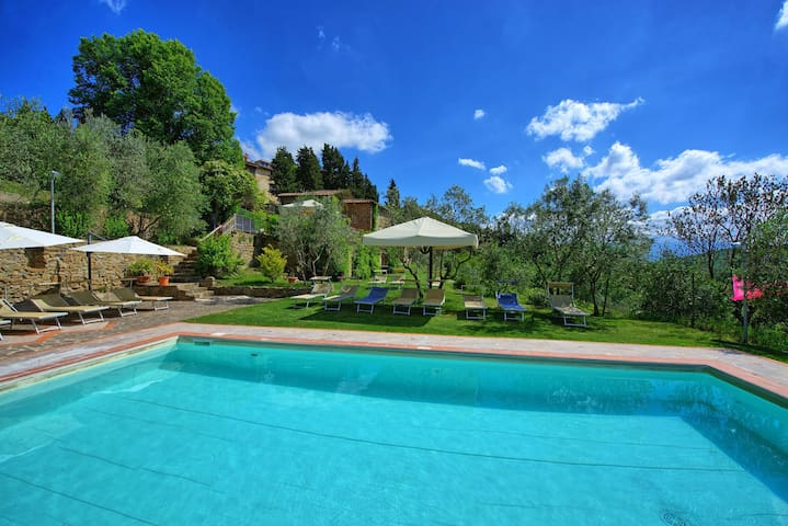 La Colonica - Holiday Rental with swimming pool in Chianti, Tuscany