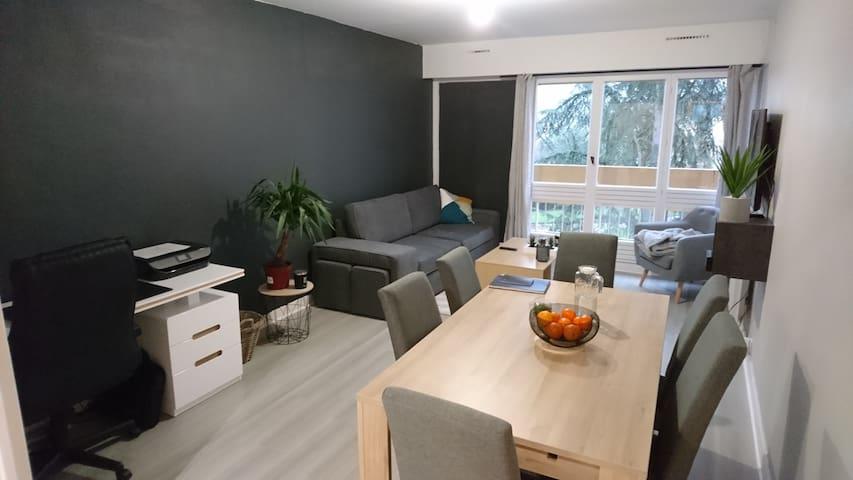 Appart de 65m² dans résidence, au pied d'Angoulême