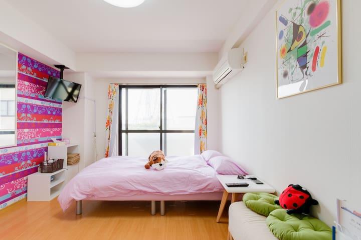 Osaka beautiful room! Kaiyukan, USJ - Ōsaka-shi Minato-ku - Apartamento