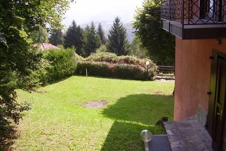 Villetta con giardino privato e bel panorama! - Lanzo D'intelvi - Dom