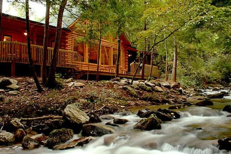 A River Runs Through It-Rumbling Bald Resort - Lake Lure