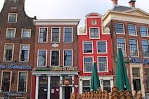 leuke kroegjes en restaurantjes in stad Groningen