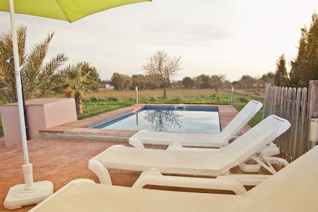 Casita David, pool, wifi, tv. sat. - Campos