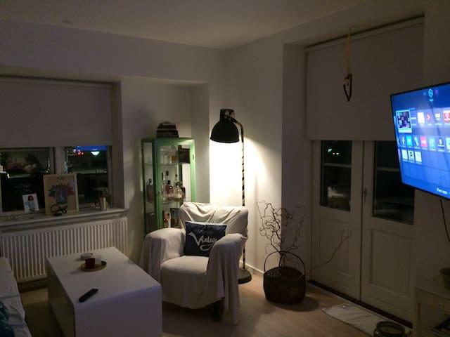 Centralt beliggende lille rækkehus med terrasser - Helsingør - Apartment