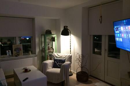 Centralt beliggende lille rækkehus med terrasser - Helsingør - Lägenhet