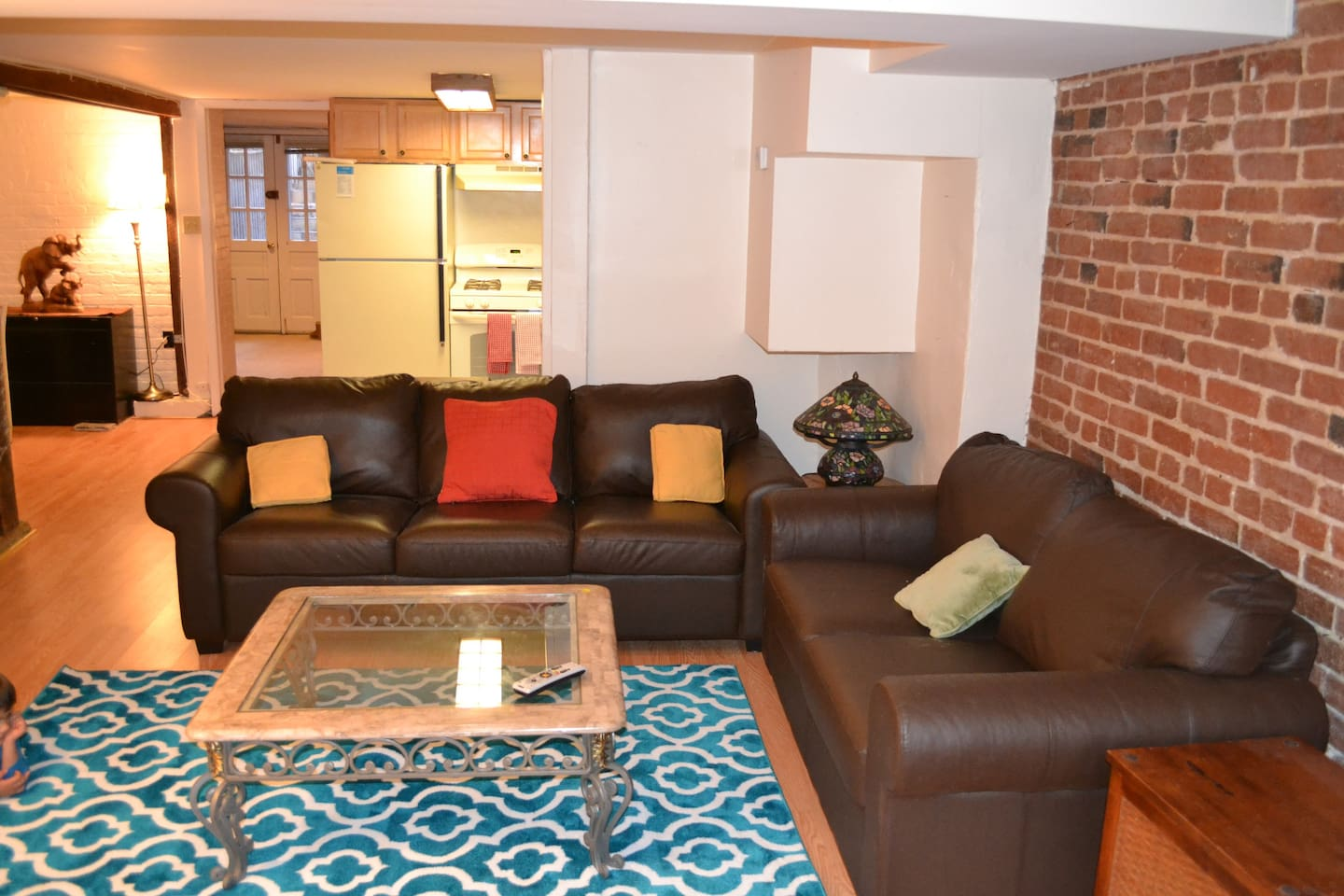 Living Room looking into Kitchen