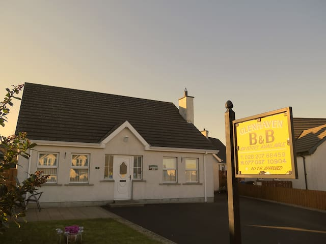 Glenhaven bed and breakfast - Ballycastle - Wikt i opierunek