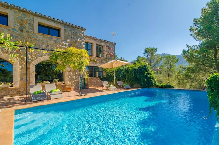VILLA DOS PINS - Villa with private pool in Valldemossa . Free WiFi