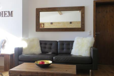 Wunderschöne Wohnung für 2 mit tollem Bergpanorama - Marktschellenberg - Apartmen