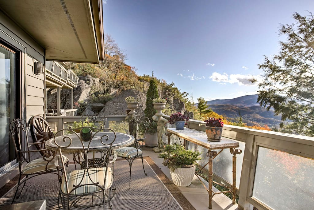 Relish fresh air from the spacious patio.