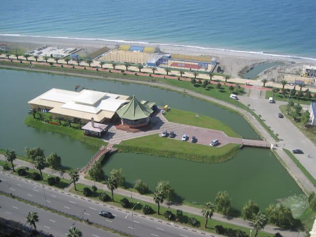 Rest in Batumi (near sea side)  M A R I KA