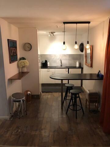 Modern lägenhet i villa - i Stockholms närområde