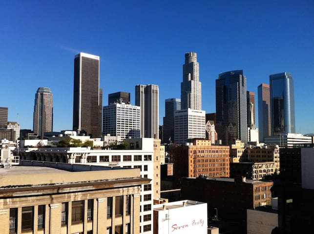 Premier Private Studio & Rooftop with City Views - Los Angeles - Villa