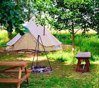 Crooked willow campsite, Glamping! - Burgh le Marsh - Tenda de campanya