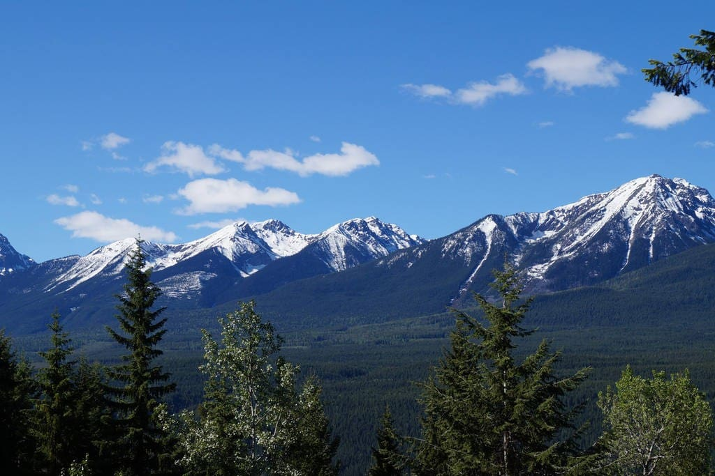 The Selkirk Mountains