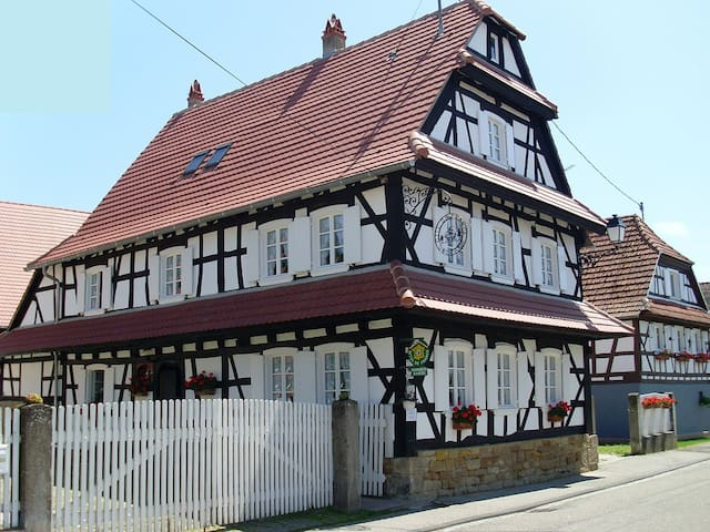 "Gîte**** ""Un des Plus Beaux Villages de France"" - Hunspach - Apartment"