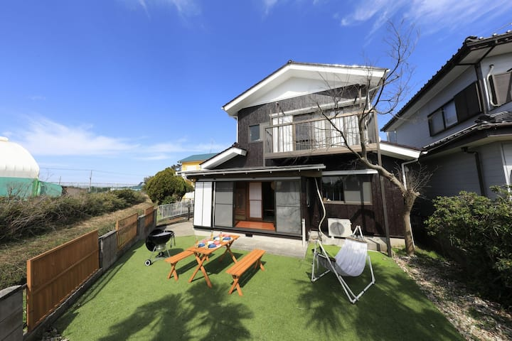 Beach  BBQ  with your pet Seaside house iyashi