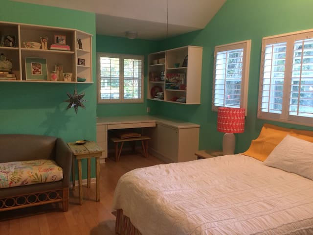 Tropical room near downtown & river - Stuart - Casa