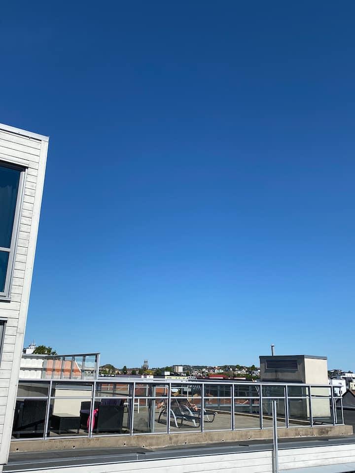 Sommerleilighet midt i sentrum i Kristiansand