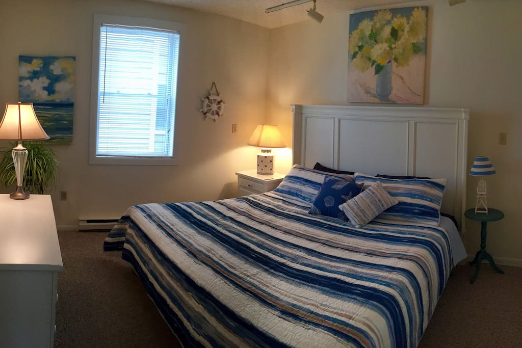 1st Bedroom with King