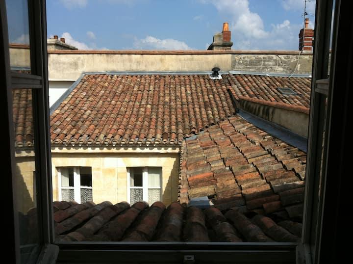 Bordeaux , miroir d'eau , cœur historique.