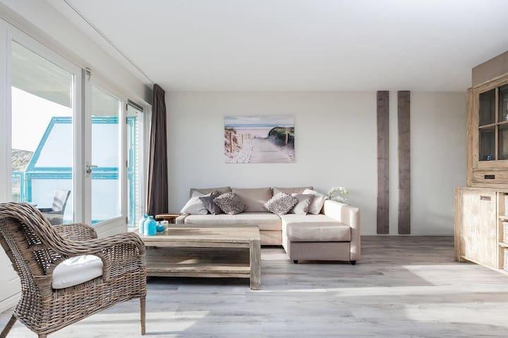 Comfortabel vakantie appartement 4-6 pers. aan zee