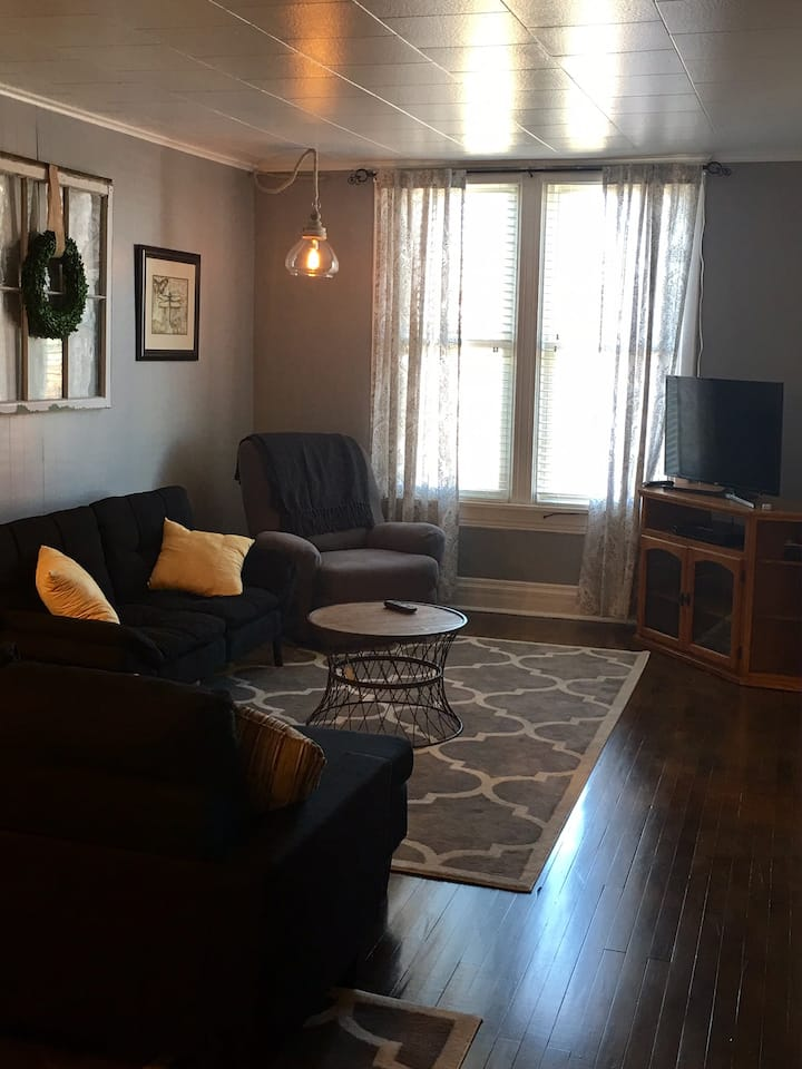 Remodeled downtown Phillips, Wi Apartment