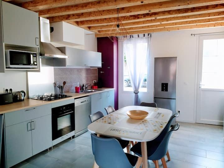 Nouveau gîte Casa Louka, St-Aignan, 3km de Beauval