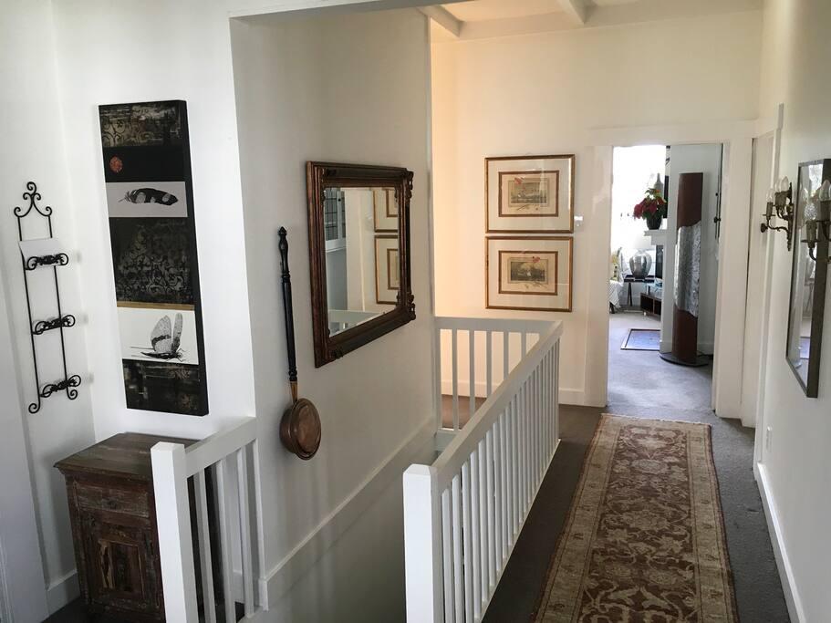 Hallway - High Stud and Ceiling