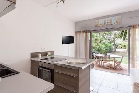 Appartement avec jardin et piscine - Agde - Lejlighed