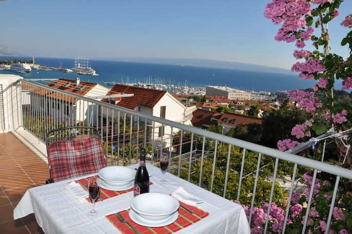 Spalato bm apartment ST2 beautiful view - Split