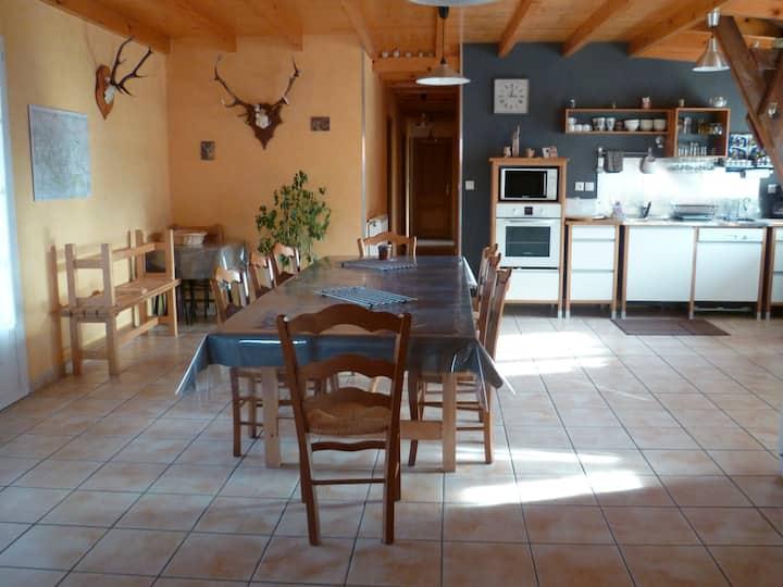 Grand gîte rural en Barousse 11 per