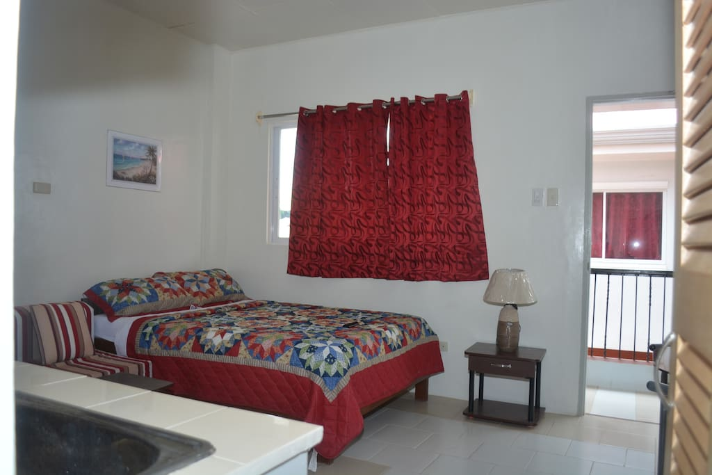 """Serenity and Harmony Studios"" Suite Rooms  Second Floor with Balcony"